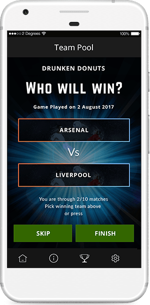 Football Universe Team Pool